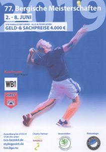 Bergische Meisterschaften 2019 vom 2. bis 8. Juni 2019 1