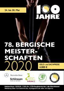 Bergische Meisterschaften 2020 / Anmeldung 1