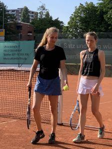 Endspurt für NBV-Teams vor der Sommerpause: Damen holen sich zweiten Sieg im zweiten Spiel 2