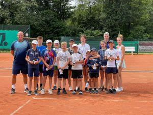 Erfolge der Tennis Jugend von Blau-Weiß Ronsdorf bei den 56. Wuppertaler Stadtjugendmeisterschaften 1